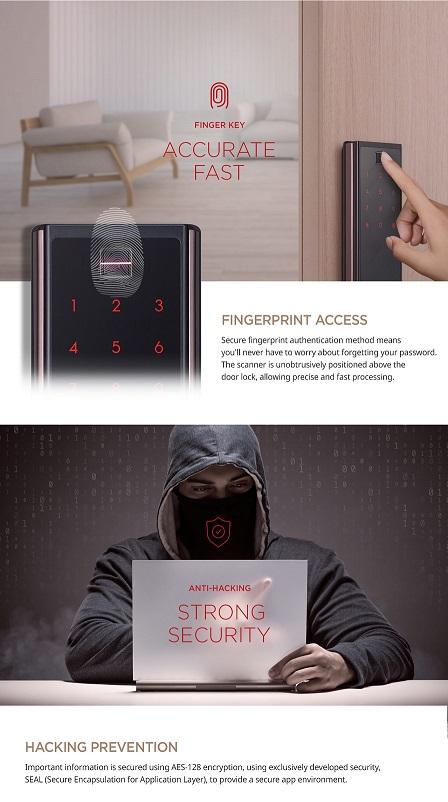Samsung Smart Doorlock SHP DP738 HOME